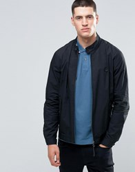 Pretty Green Harrington Jacket In Slim Fit Black Black