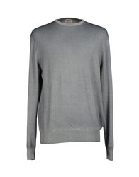 Heritage Knitwear Jumpers Men Green