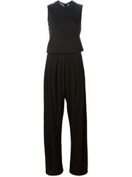 Kai Aakmann Wide Leg Pleated Jumpsuit