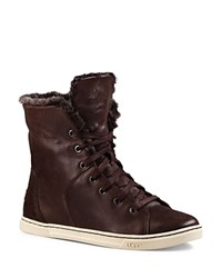 Ugg Croft Luxe Quilted Sneakers Espresso
