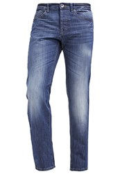 United Colors Of Benetton Straight Leg Jeans Blue Dark Blue Denim