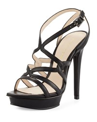 Pelle Moda Farah 2 Strappy Leather Sandal Black