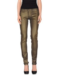 Richmond Denim Denim Denim Trousers Women Military Green
