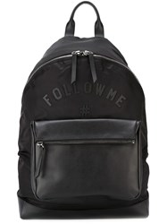 Ports 1961 Follow Me Patch Backpack Black