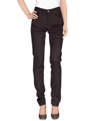 Armani Jeans Trousers Casual Trousers Women Dark Brown