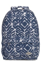 Billabong Junior Women's 'Hand Over Love' Backpack Blue Blue Tide