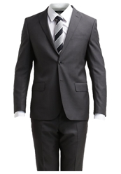 J. Lindeberg J.Lindeberg Hopper Soft Slim Fit Suit Dark Grey Dark Gray