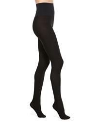 Commando Perfectly Opaque Matte Control Top Tights Black Black Small