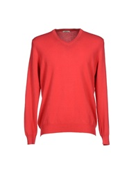 J For James Sweaters Coral