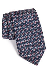 Vineyard Vines 'Houston Texans Nfl' Woven Silk Tie Navy
