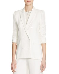 Sandro Vanny Double Breasted Blazer 100 Bloomingdale's Exclusive Ecru
