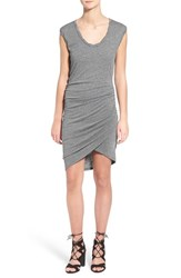 Women's Pam And Gela Slub Jersey Sleeveless Dress Heather Grey