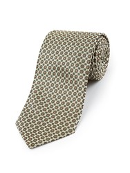 Skopes Fancy Polyester Tie Gold