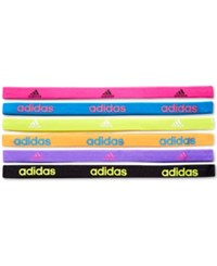 Adidas Fighter Hairbands 6 Pack Assorted
