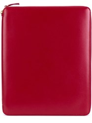 Comme Des Garcons Wallet Classic Leather Wallet Red