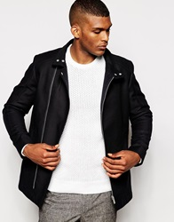 Reiss Cotton Jacket Navy