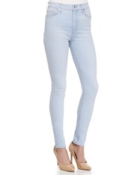 7 For All Mankind The High Waisted Skinny Fit Denim Jeans