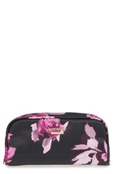 Kate Spade New York 'Classic Berrie' Floral Cosmetics Case Black Multi