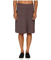 Royal Robbins Metro Melang Skirt Java Women's Skirt Brown