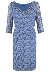 Tom Tailor Summer Dress Steal Blue