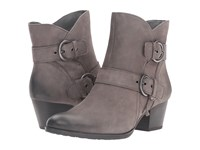 Earth Olive Dark Grey Vintage Women's Pull On Boots Gray
