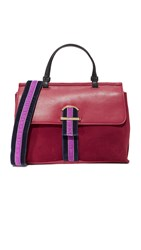 Cynthia Rowley Hudson Satchel Dark Red