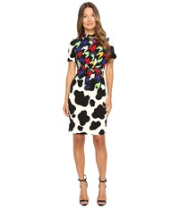 Boutique Moschino Western Dress Multicolor