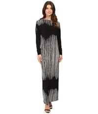 Norma Kamali All In One Gown Fringe Women's Dress Brown
