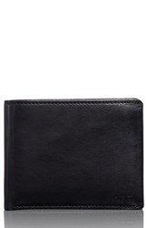 Men's Tumi 'Chambers Global' Leather Passcase Wallet Black