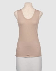 Lamberto Losani Sleeveless T Shirts Dove Grey