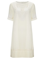 Alice By Temperley Somerset By Alice Temperley Embroidered Silk Dress Cream