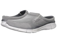 Skechers Equalizer Coast To Coast Gray Men's Lace Up Casual Shoes