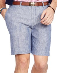 Polo Ralph Lauren Classic Fit Chambray Short Blue White