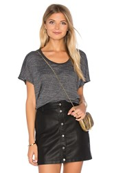 Candc California Elle Tee Charcoal