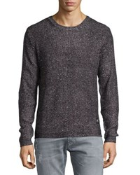 Cheap Monday Curve Waffle Knit Sweater Black