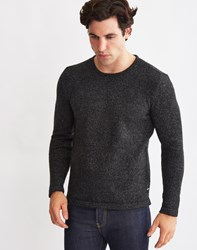 Only And Sons Mens Knitted Pullover Jumper Black