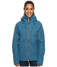 Fjall Raven Keb Eco Shell Jacket W Glacier Green Women's Coat