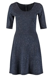 Teddy Smith Rage Jersey Dress Dark Navy Dark Blue
