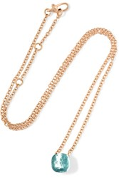 Pomellato Nudo 18 Karat Rose Gold Topaz Necklace