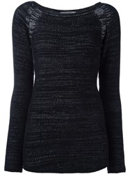Transit Ribbed Jumper Black