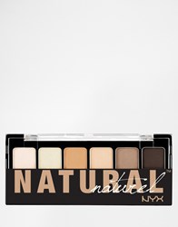 Nyx The Natural Shadow Palette Naturel