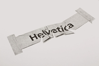 Helvetica Illustrated Limitierte Riso Edition Slanted Typo Weblog Und Magazin