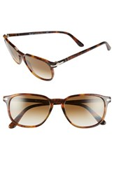 Men's Persol 53Mm Square Keyhole Sunglasses