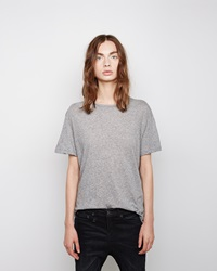 R 13 Boy Tee Heather Grey