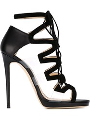 Jimmy Choo 'Dani' Sandals Black