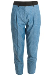 3.1 Phillip Lim Chambray Trousers