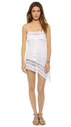 Miguelina Holly Dress Pure White