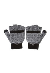 Forever 21 Marled Fingerless Gloves