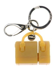 Furla Key Rings Ocher