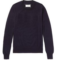 Maison Martin Margiela Wool Sweater Navy